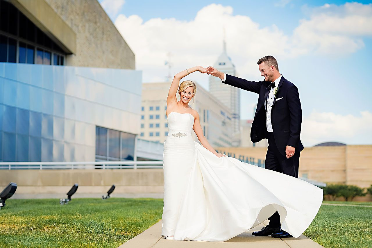 Jennie Mark Indiana Roof Ballroom Wedding 193