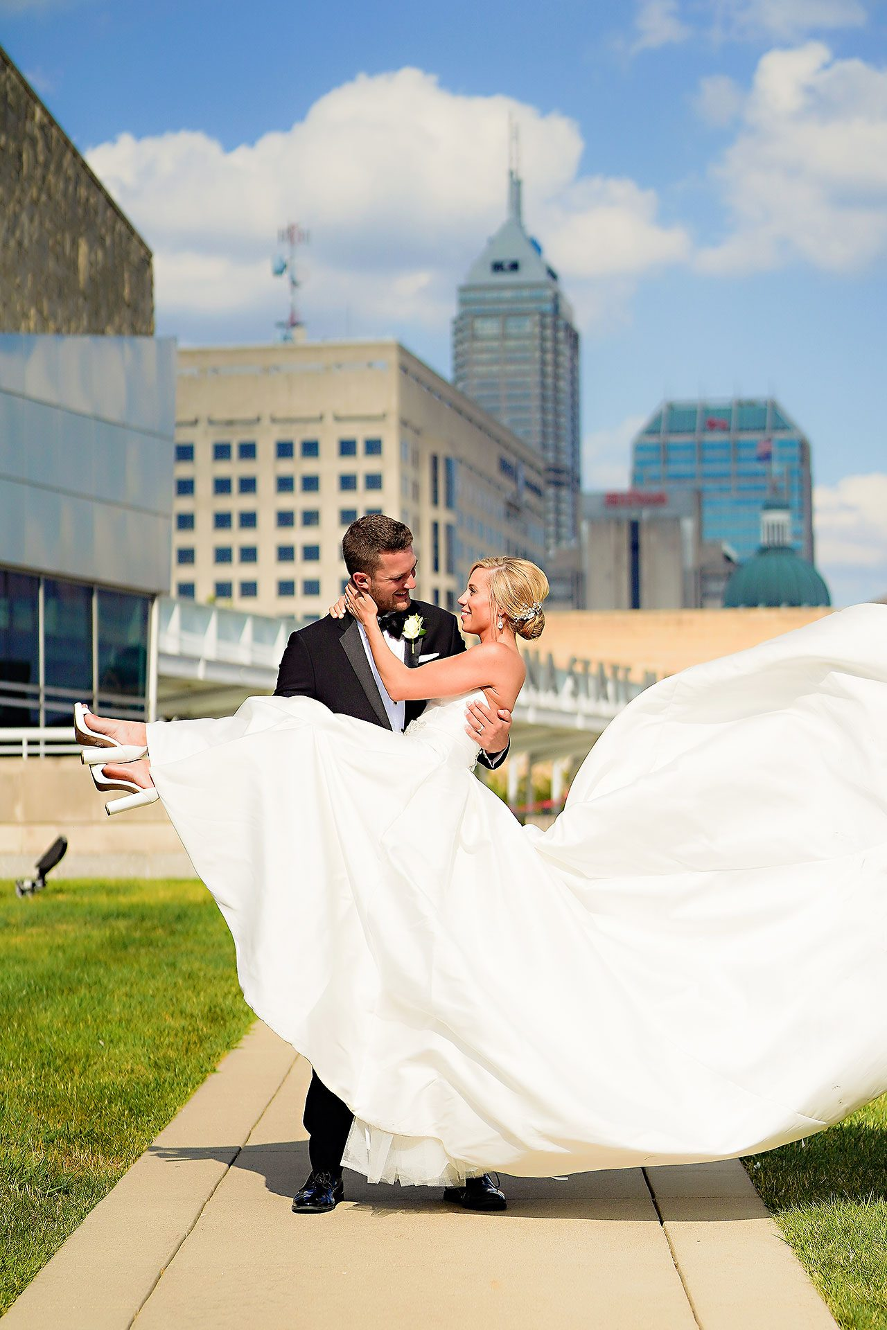Jennie Mark Indiana Roof Ballroom Wedding 198