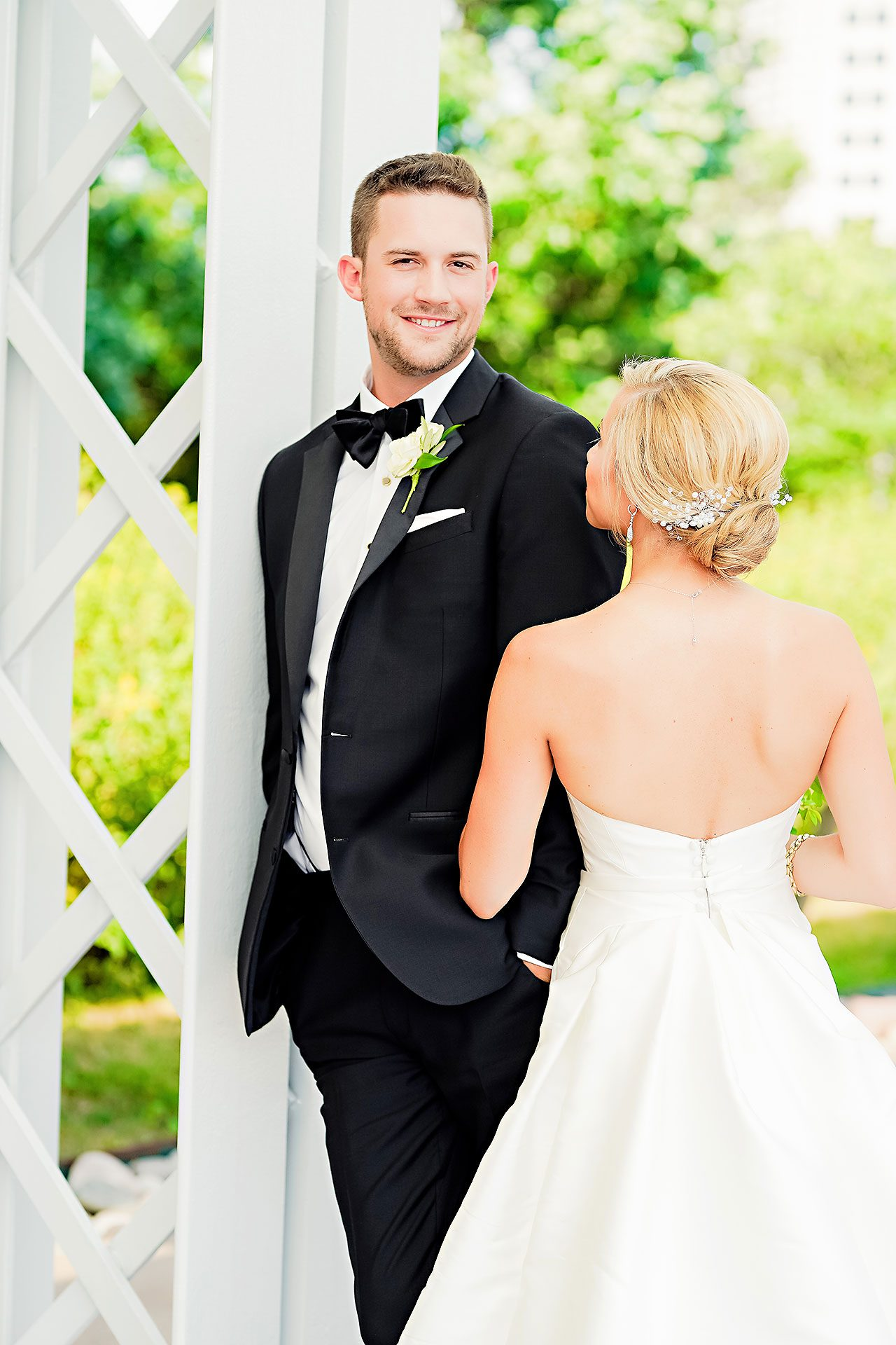Jennie Mark Indiana Roof Ballroom Wedding 202