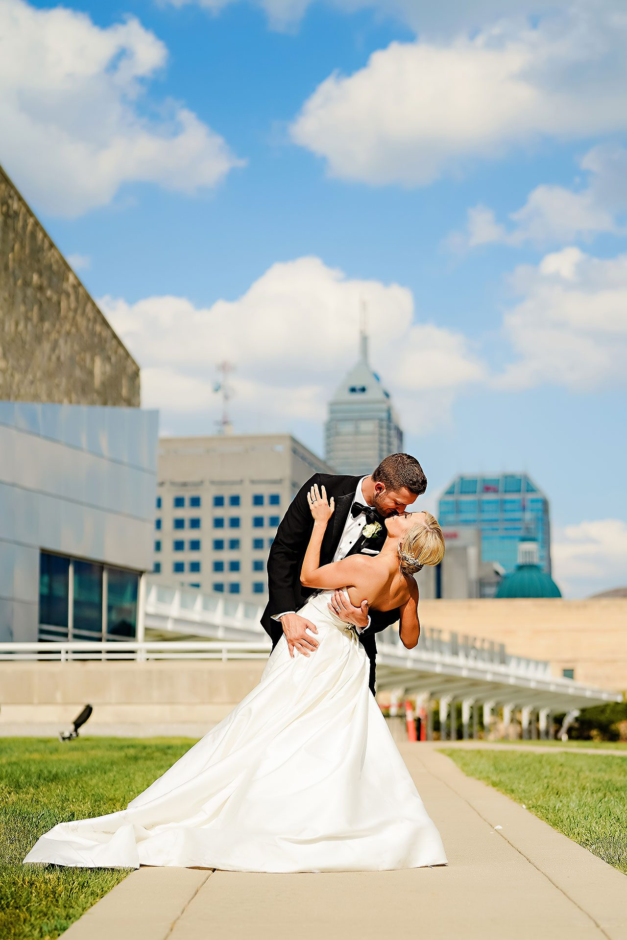 Jennie Mark Indiana Roof Ballroom Wedding 204