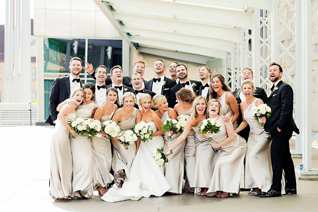 Jennie Mark Indiana Roof Ballroom Wedding 209