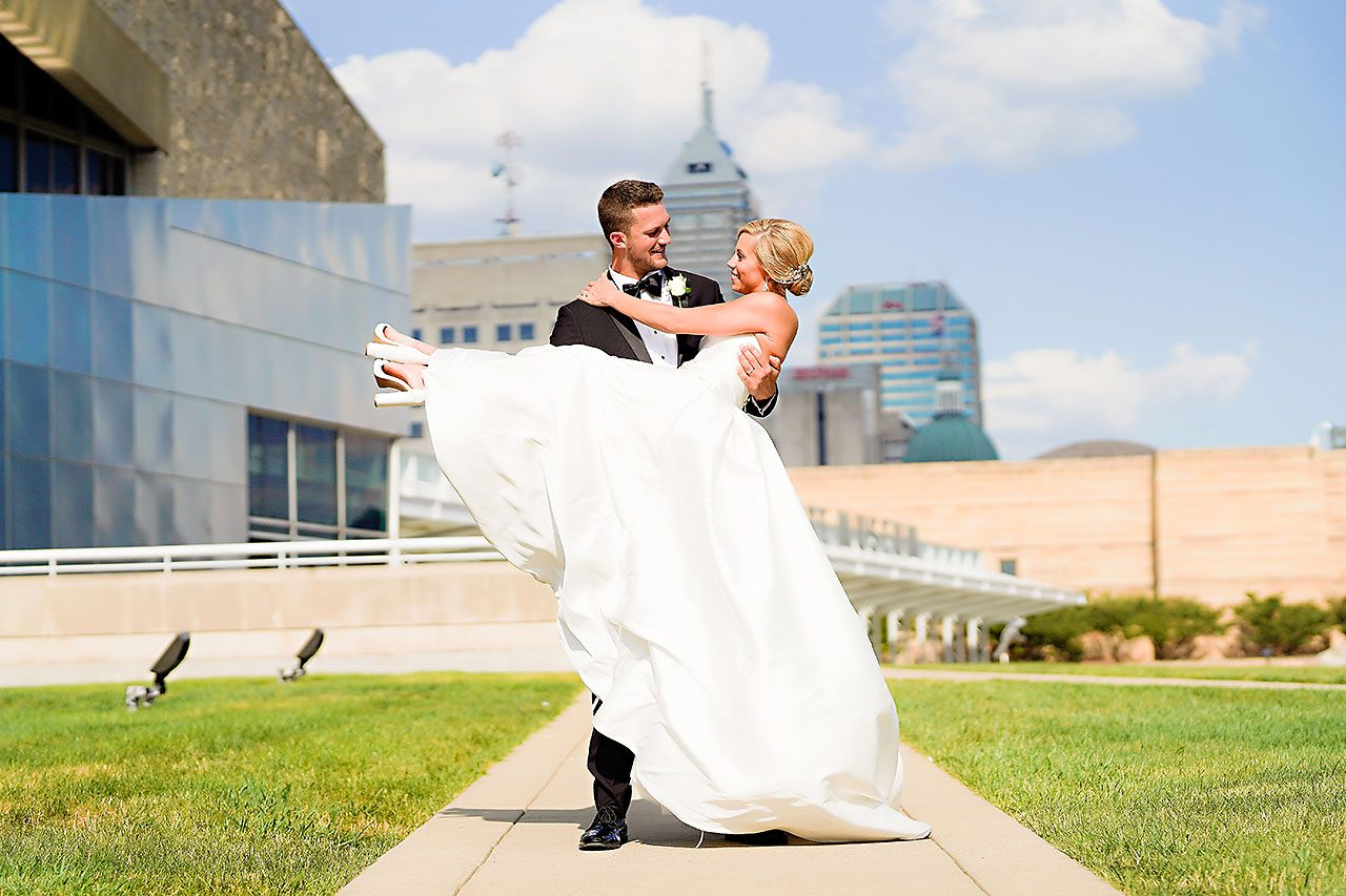 Jennie Mark Indiana Roof Ballroom Wedding 210