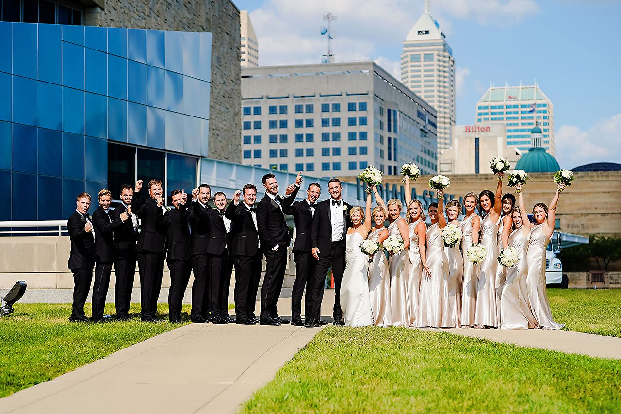 Jennie Mark Indiana Roof Ballroom Wedding 211