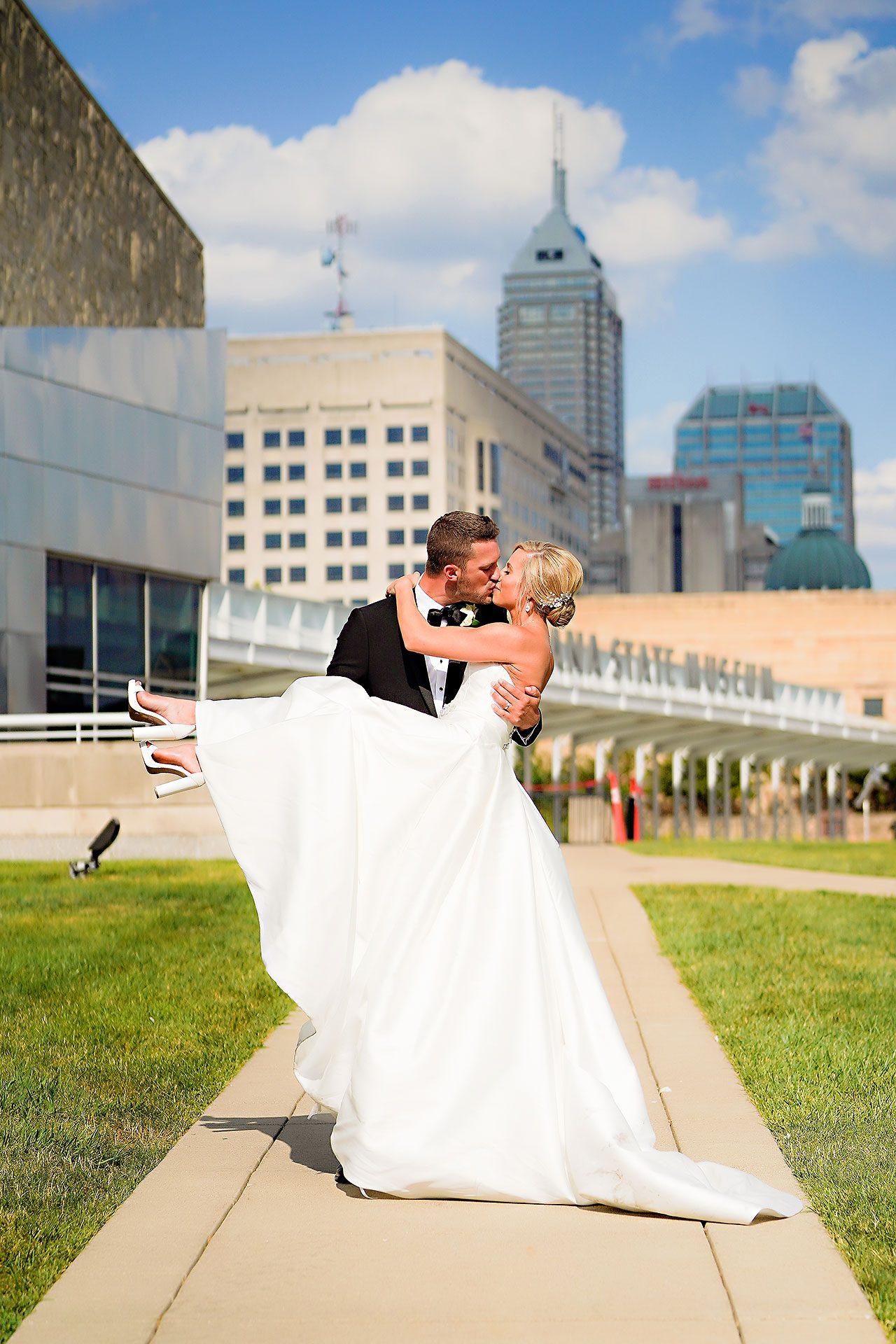 Jennie Mark Indiana Roof Ballroom Wedding 212