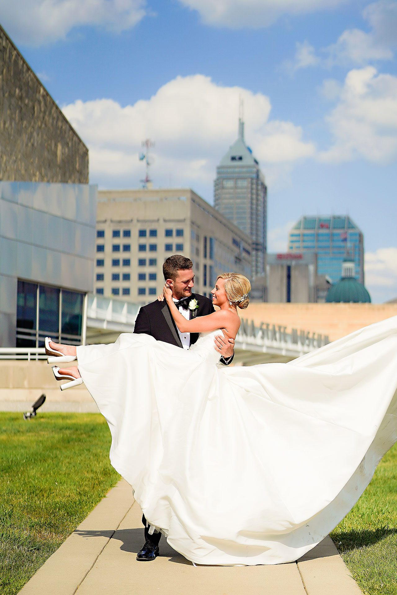 Jennie Mark Indiana Roof Ballroom Wedding 216