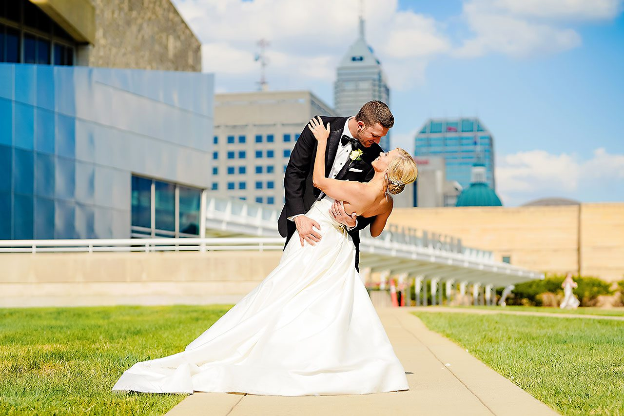 Jennie Mark Indiana Roof Ballroom Wedding 220