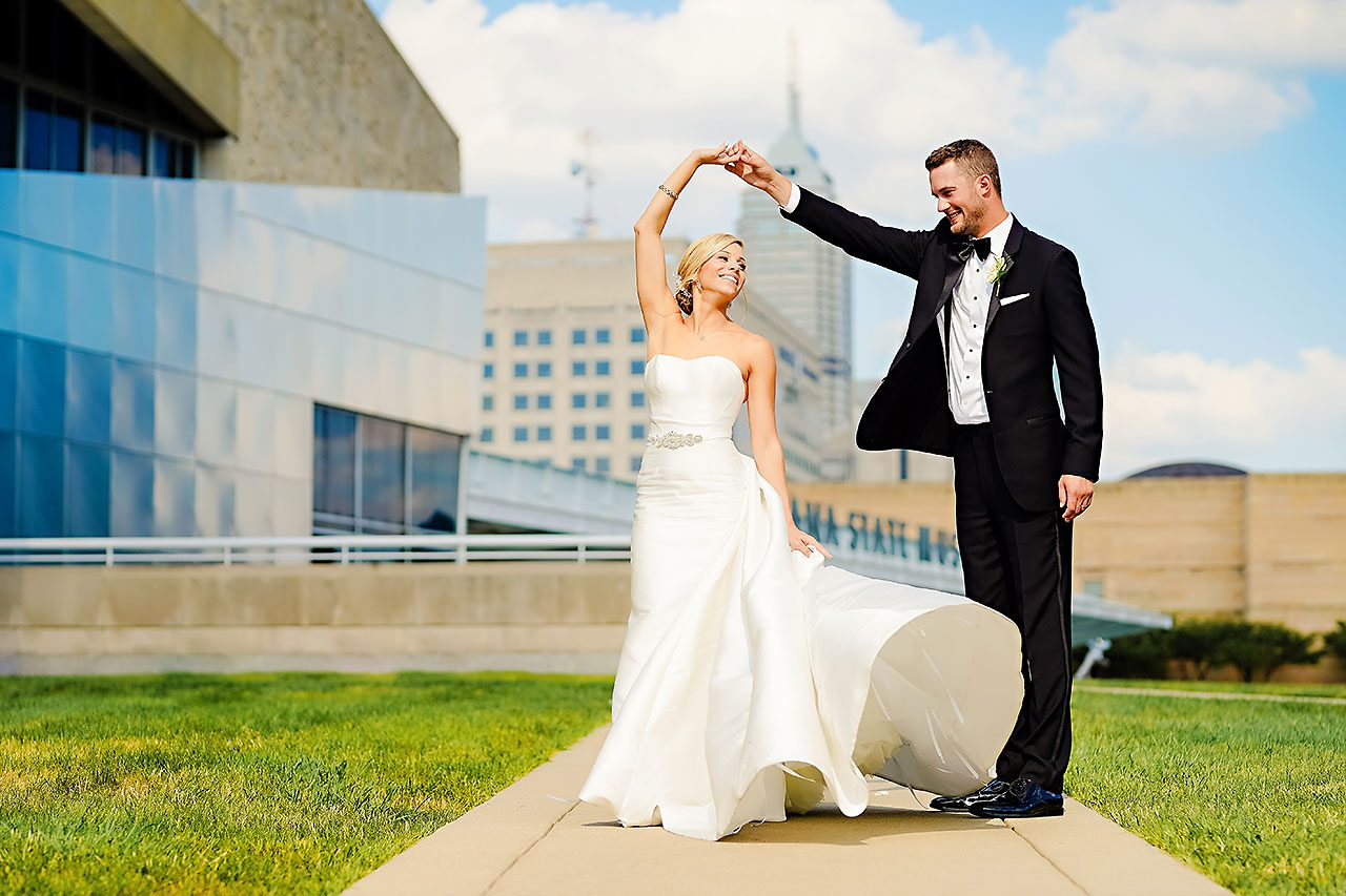 Jennie Mark Indiana Roof Ballroom Wedding 221