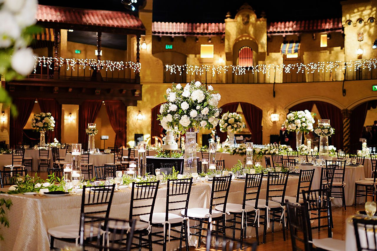 Jennie Mark Indiana Roof Ballroom Wedding 242