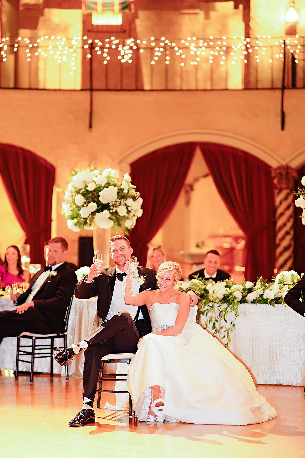 Jennie Mark Indiana Roof Ballroom Wedding 301