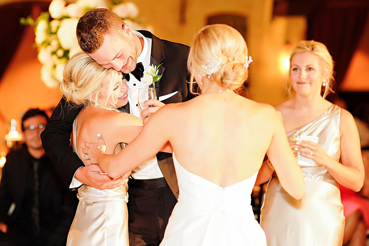 Jennie Mark Indiana Roof Ballroom Wedding 303