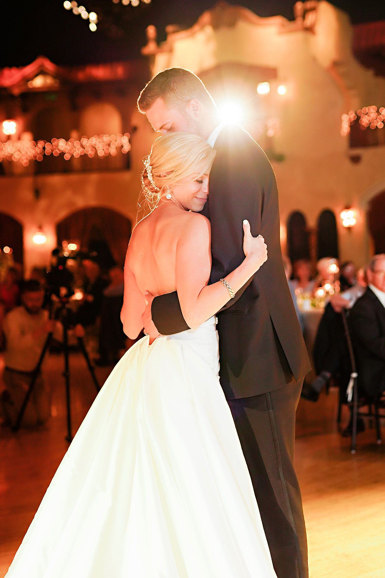 Jennie Mark Indiana Roof Ballroom Wedding 316