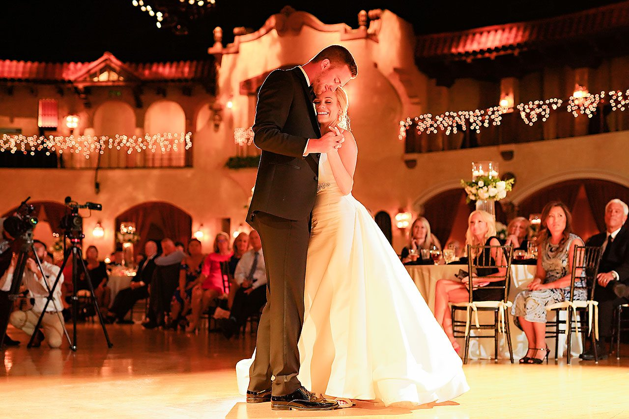 Jennie Mark Indiana Roof Ballroom Wedding 318