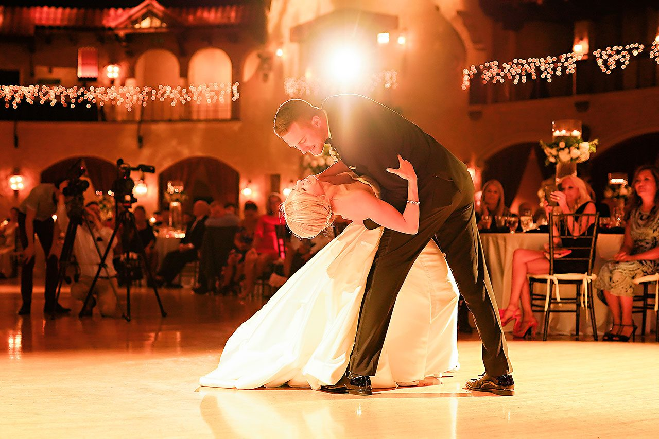 Jennie Mark Indiana Roof Ballroom Wedding 320