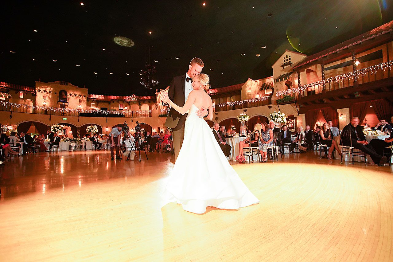 Jennie Mark Indiana Roof Ballroom Wedding 323