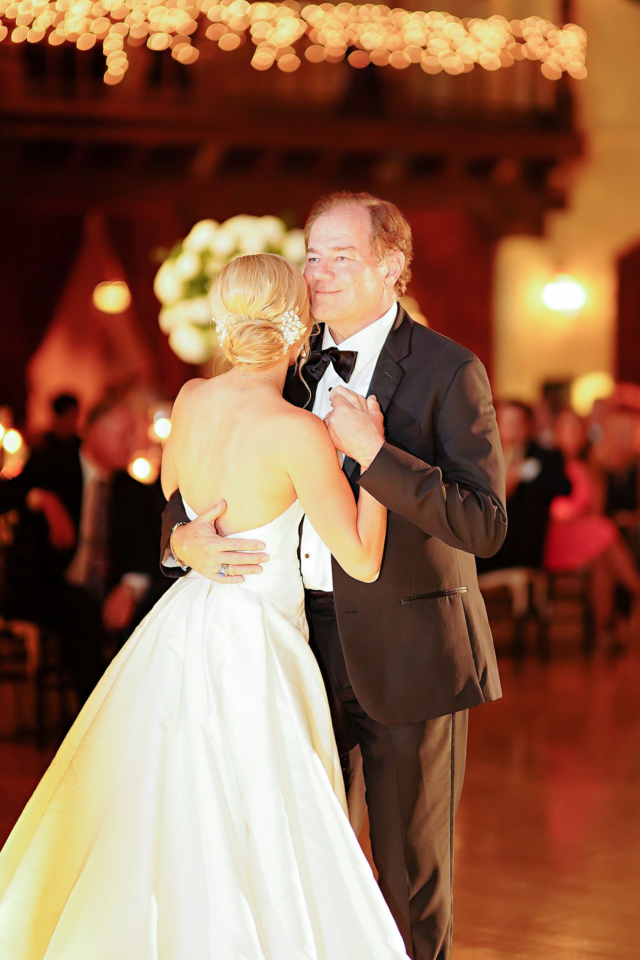 Jennie Mark Indiana Roof Ballroom Wedding 325