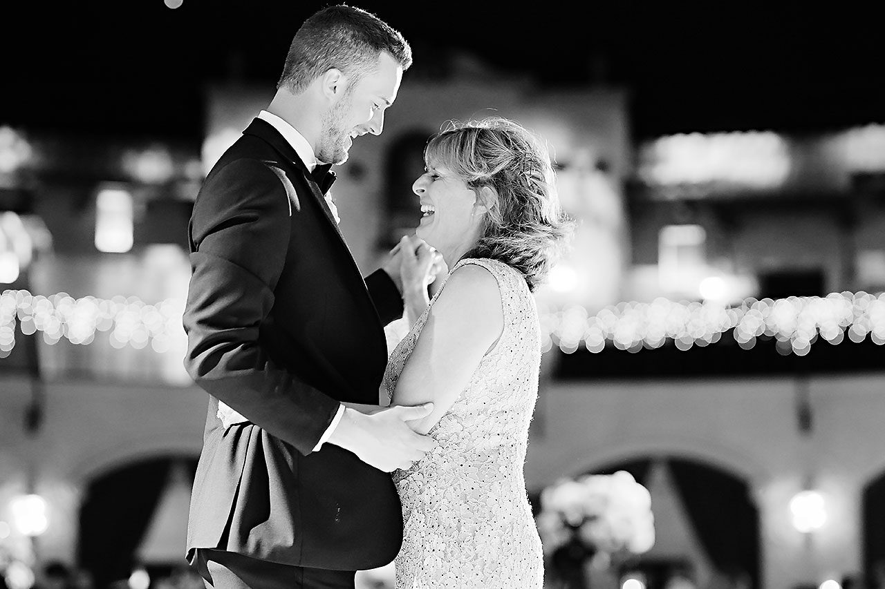 Jennie Mark Indiana Roof Ballroom Wedding 331