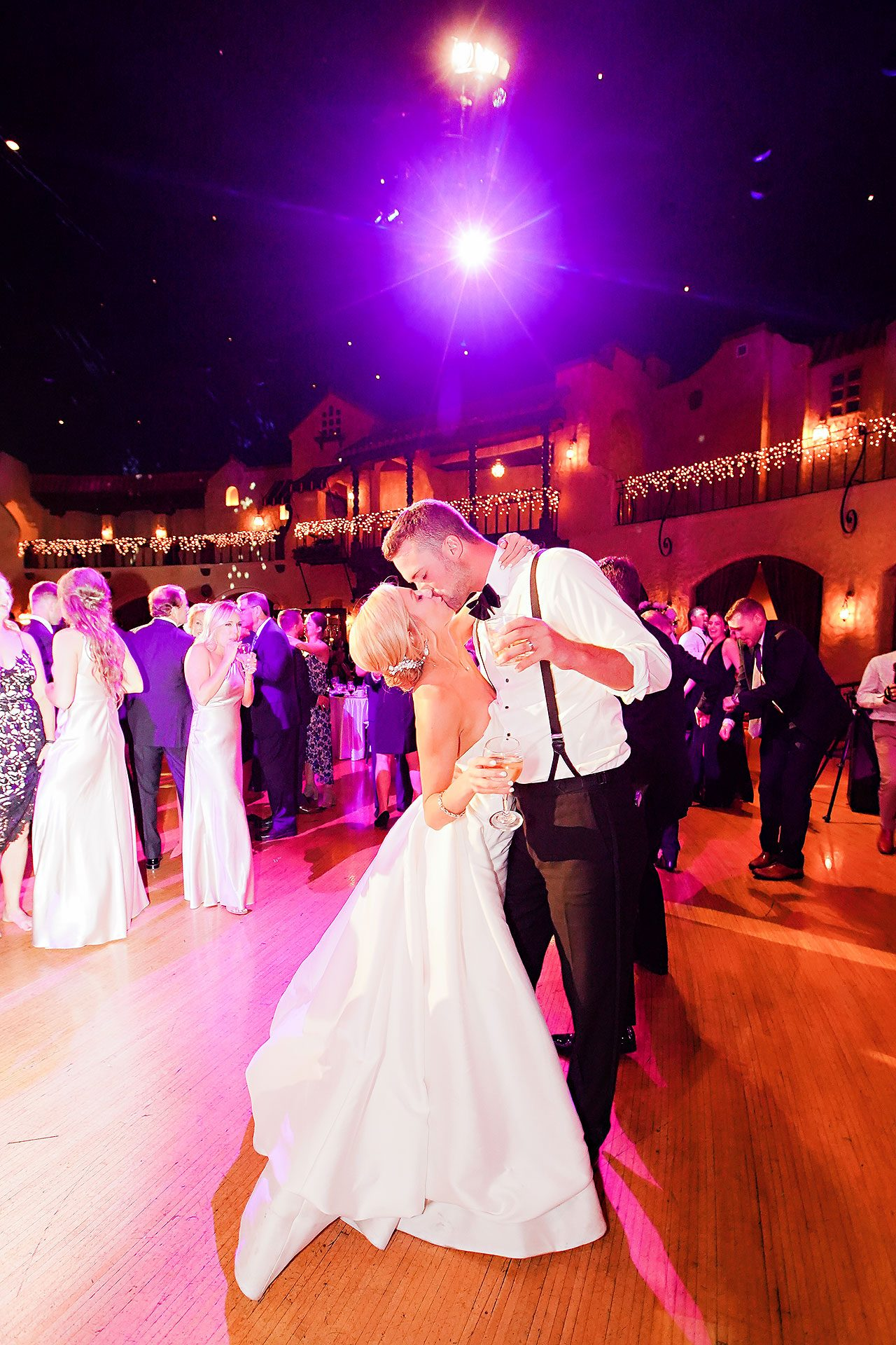 Jennie Mark Indiana Roof Ballroom Wedding 340