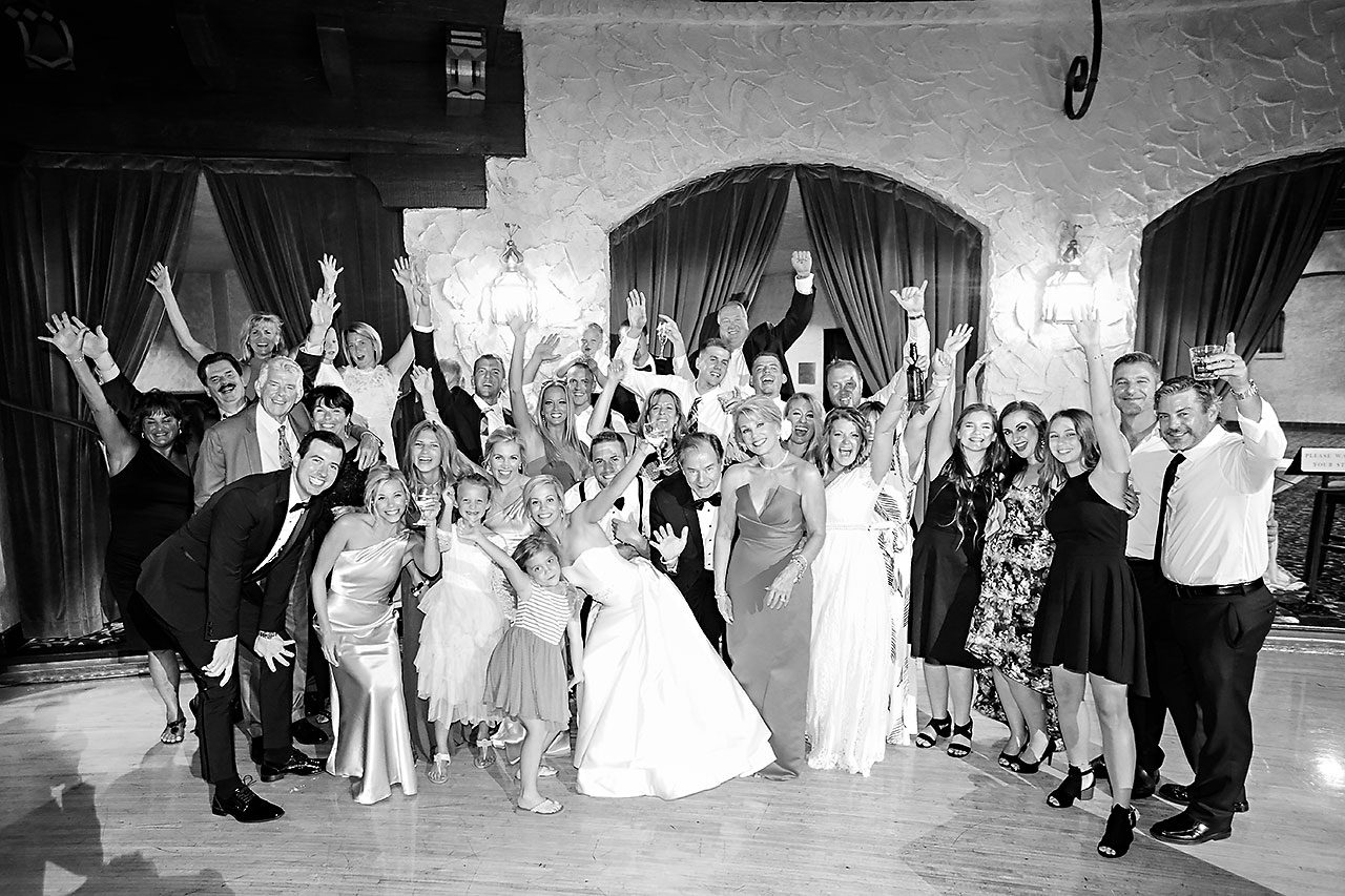 Jennie Mark Indiana Roof Ballroom Wedding 343