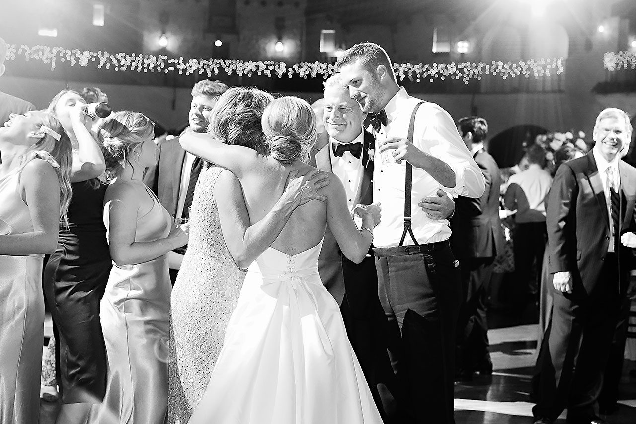 Jennie Mark Indiana Roof Ballroom Wedding 346