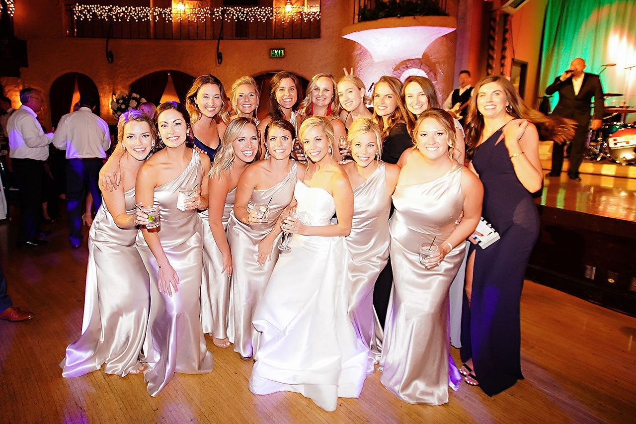 Jennie Mark Indiana Roof Ballroom Wedding 367