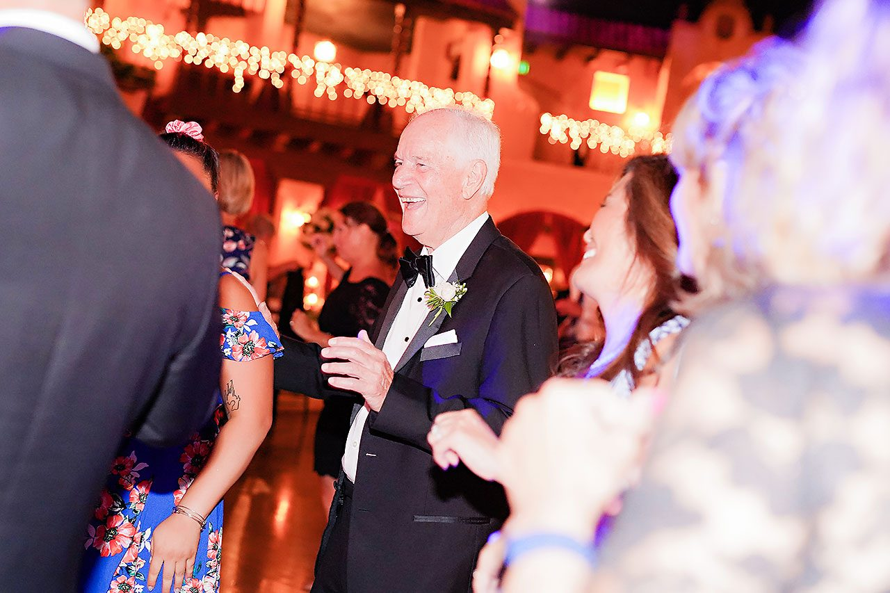 Jennie Mark Indiana Roof Ballroom Wedding 371