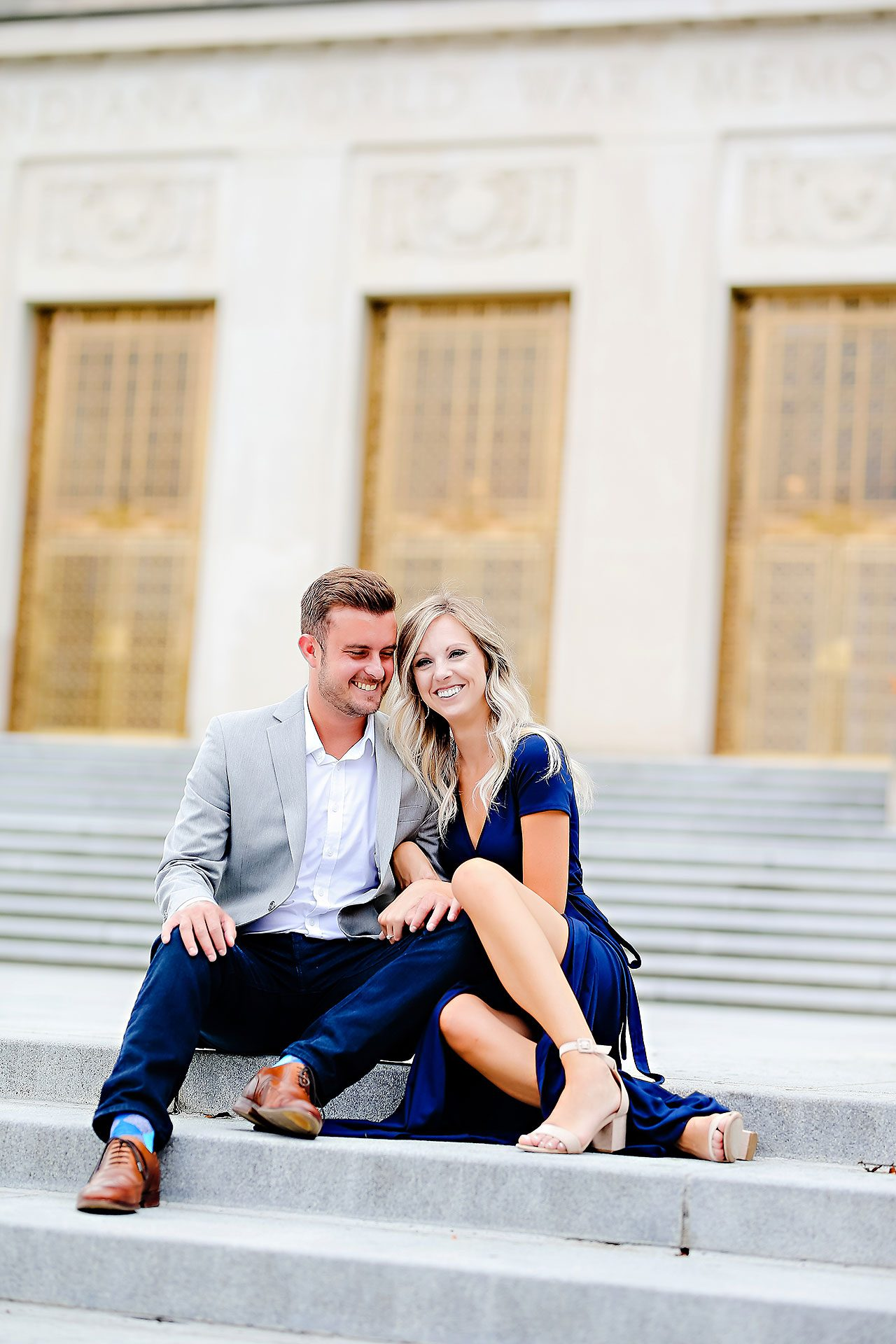Melanie Jordan Mass Ave Engagement Session 050