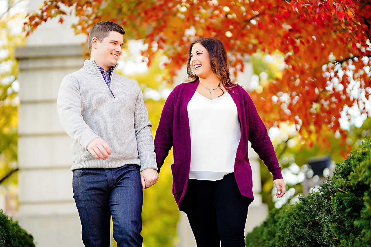 Allie Joe Purdue Engagement