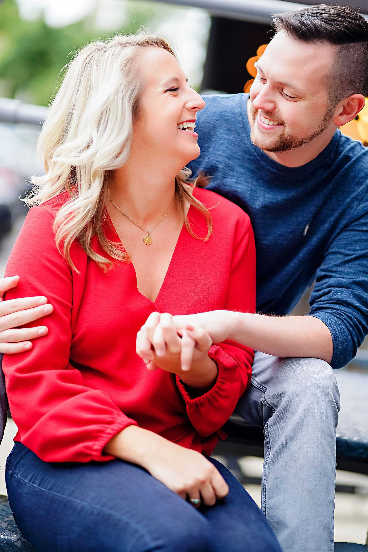 Kristen Jonny Indianapolis Downtown Engagement Session 017