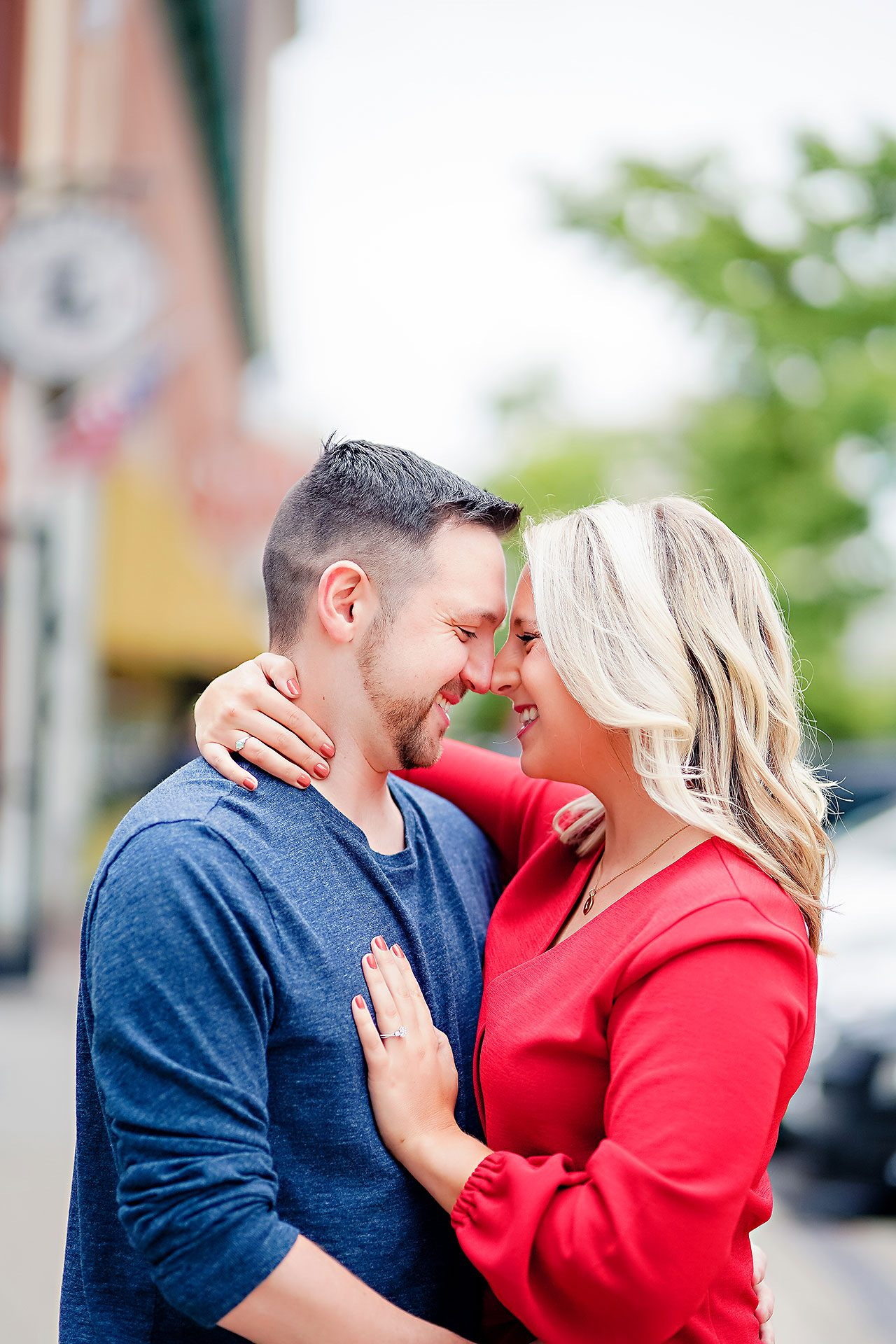 Kristen Jonny Indianapolis Downtown Engagement Session 021