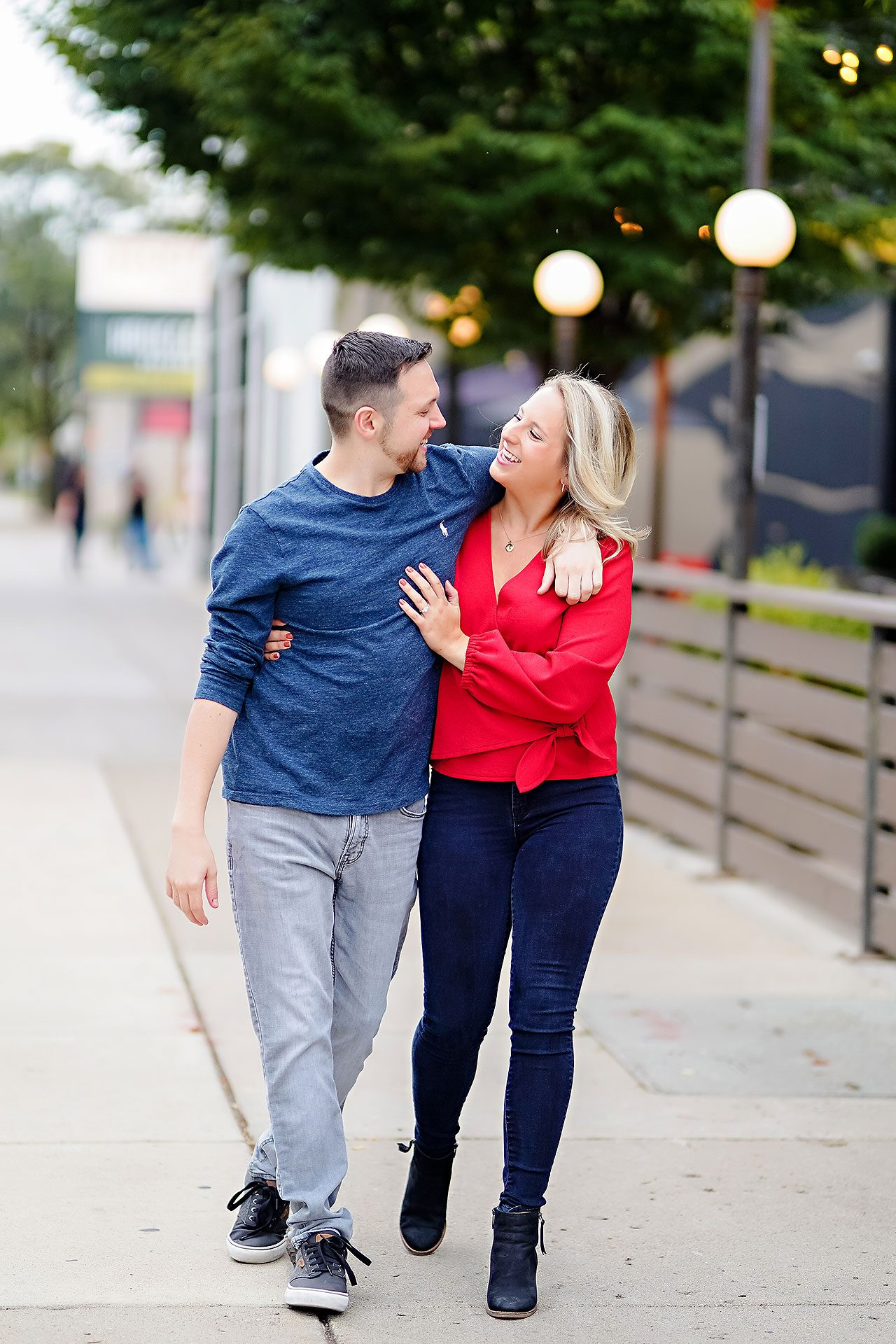 Kristen Jonny Indianapolis Downtown Engagement Session 022