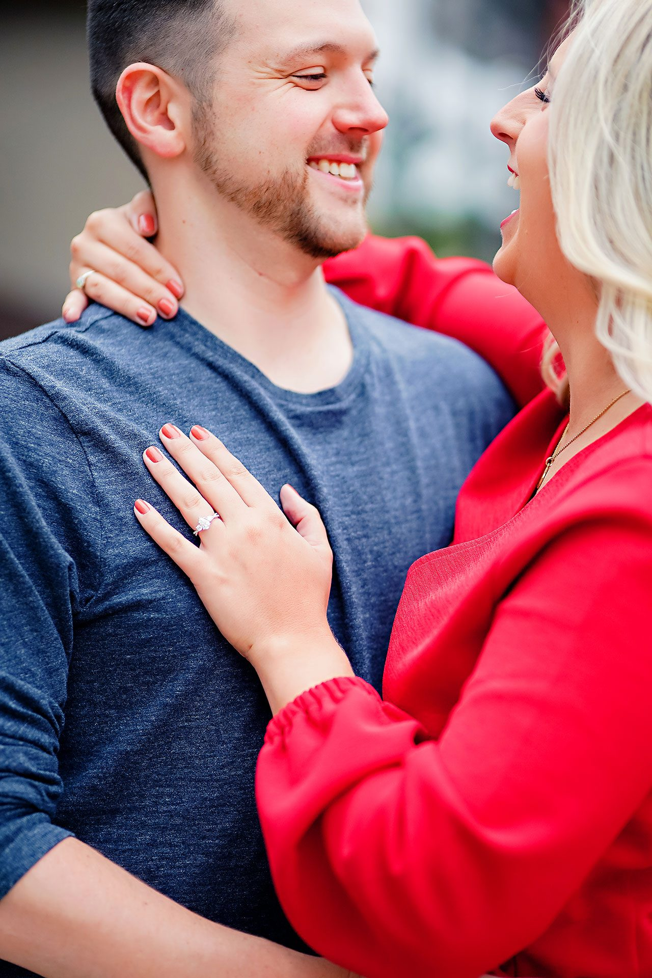 Kristen Jonny Indianapolis Downtown Engagement Session 023