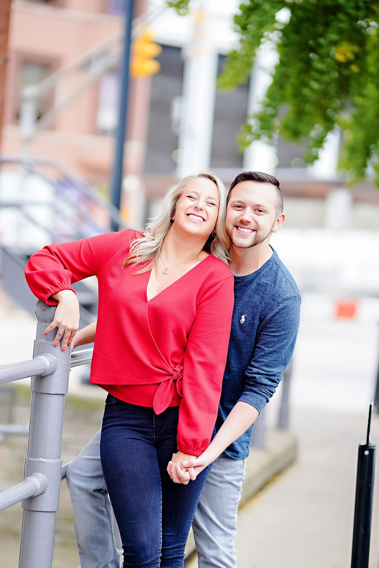 Kristen Jonny Indianapolis Downtown Engagement Session 024