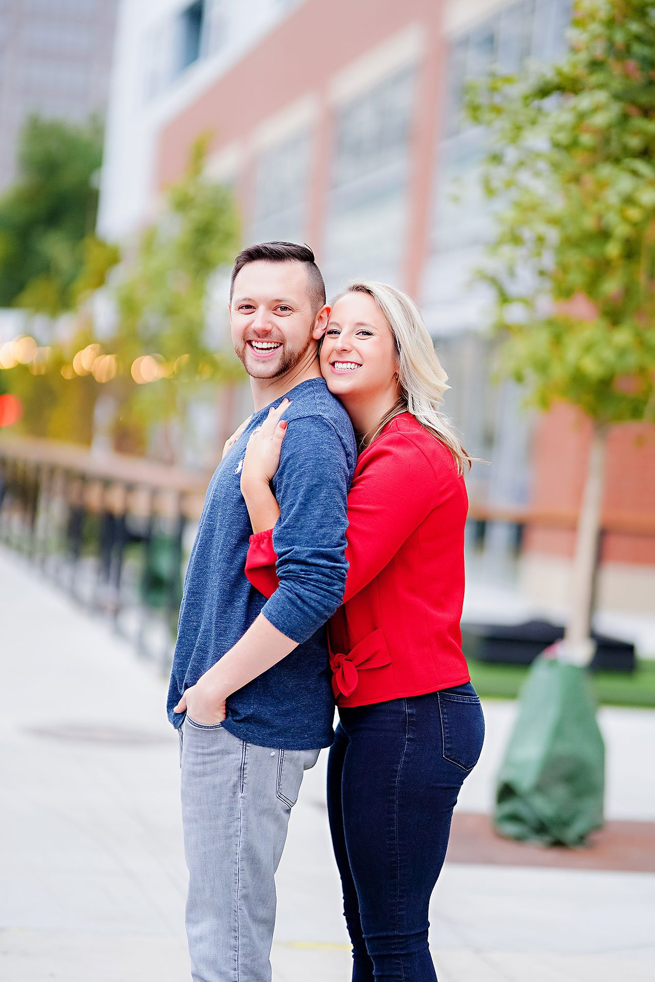 Kristen Jonny Indianapolis Downtown Engagement Session 031