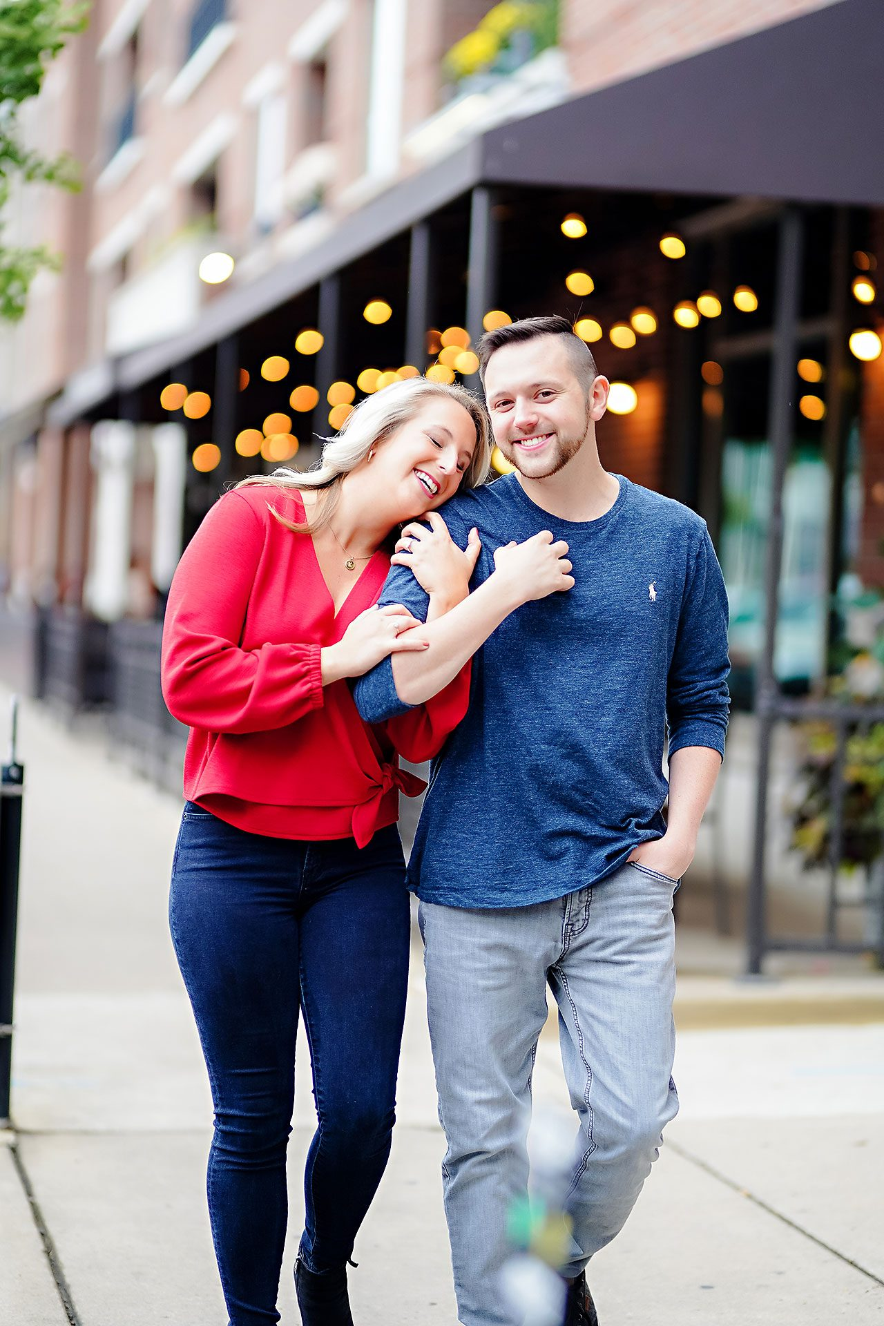 Kristen Jonny Indianapolis Downtown Engagement Session 032