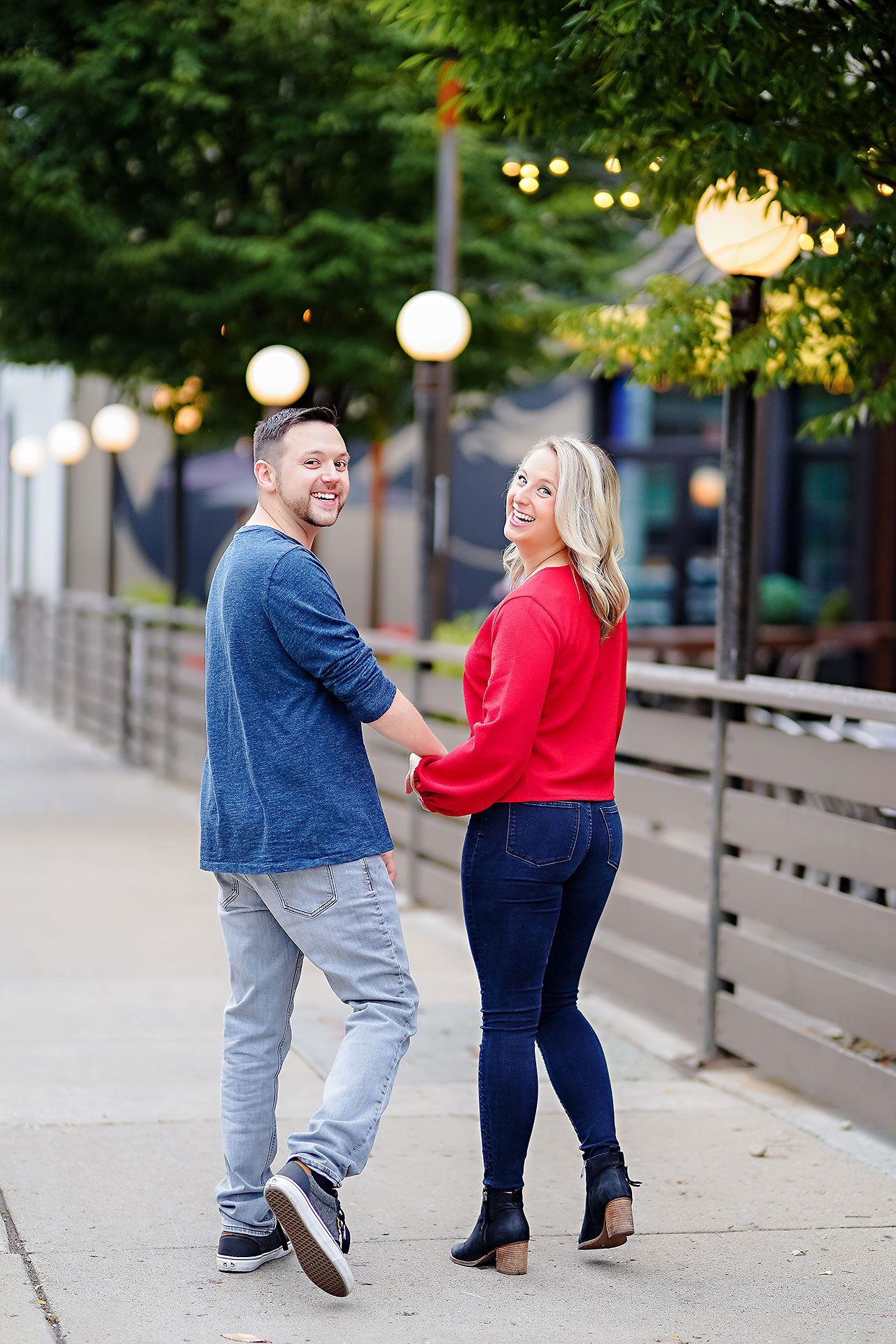 Kristen Jonny Indianapolis Downtown Engagement Session 035