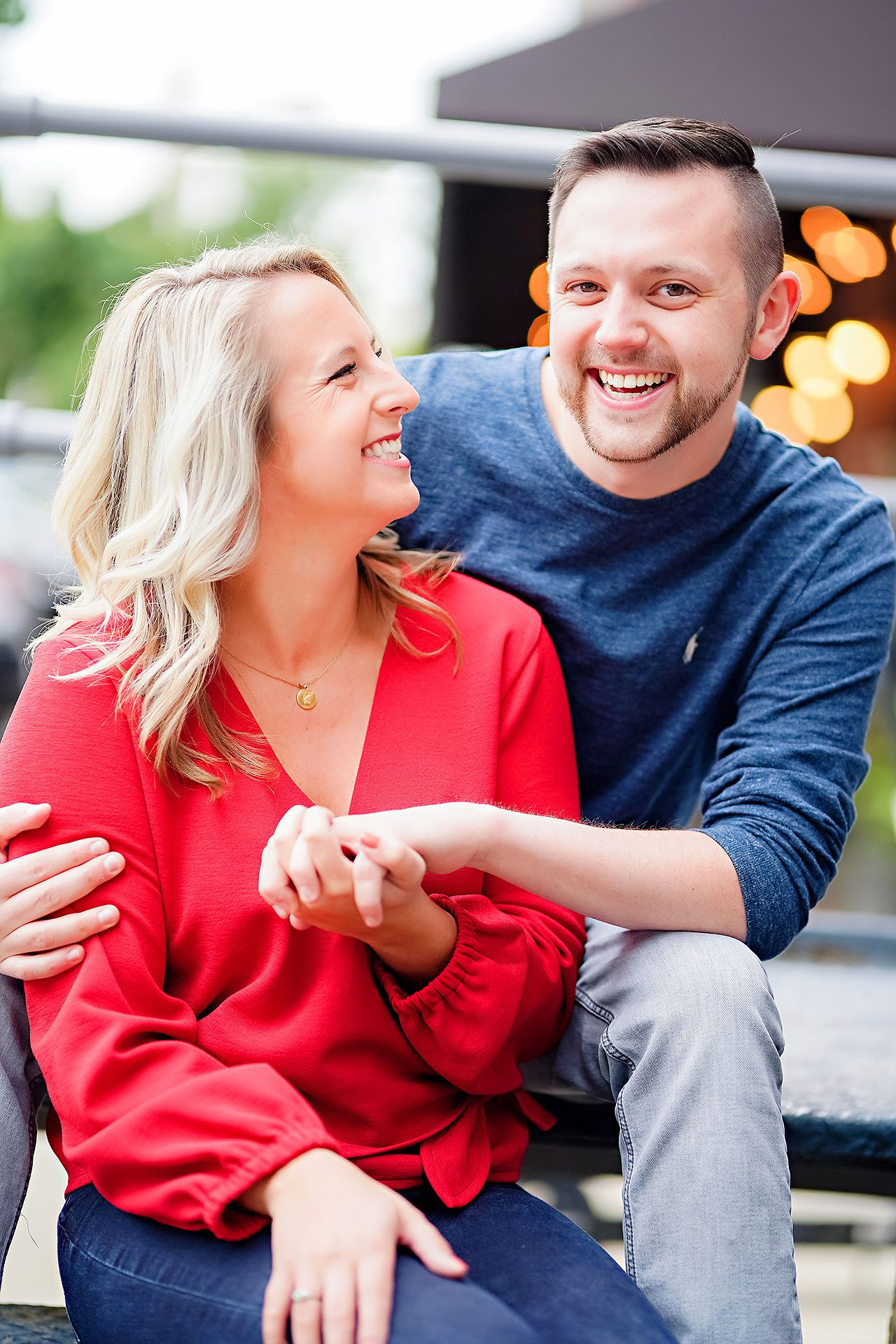 Kristen Jonny Indianapolis Downtown Engagement Session 036