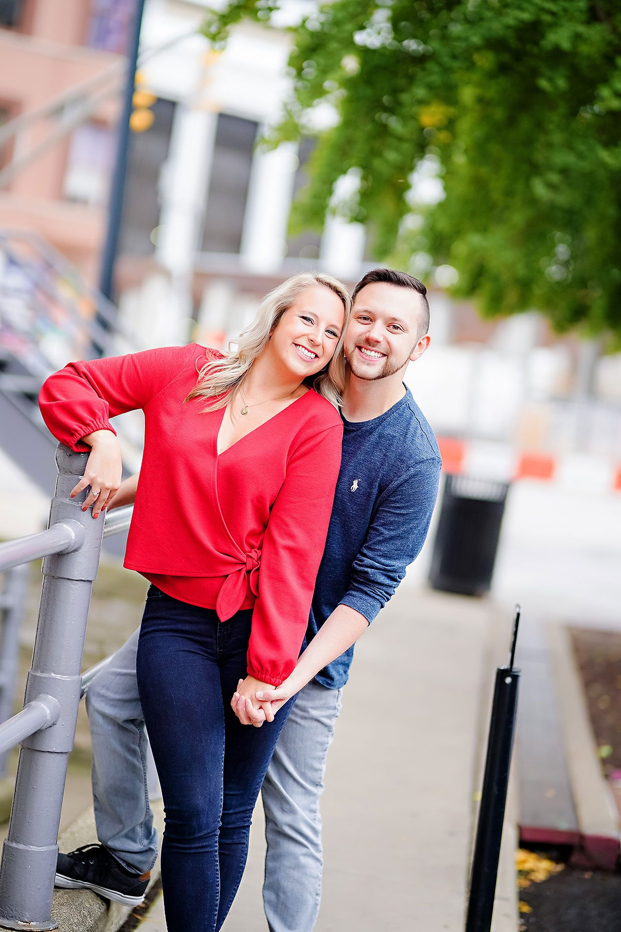 Kristen Jonny Indianapolis Downtown Engagement Session 041