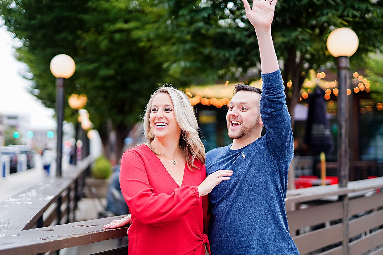 Kristen Jonny Indianapolis Downtown Engagement Session 042