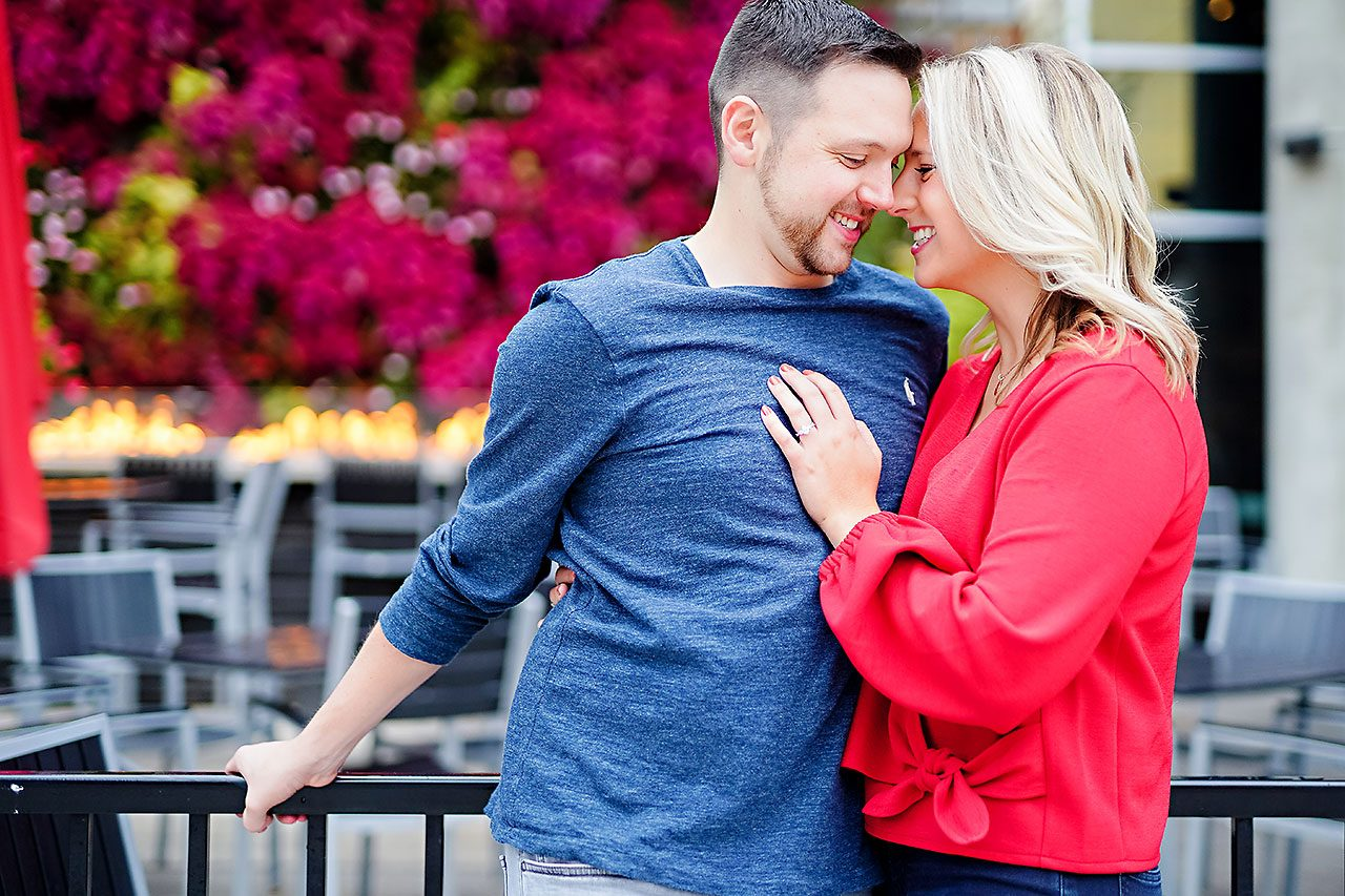 Kristen Jonny Indianapolis Downtown Engagement Session 043