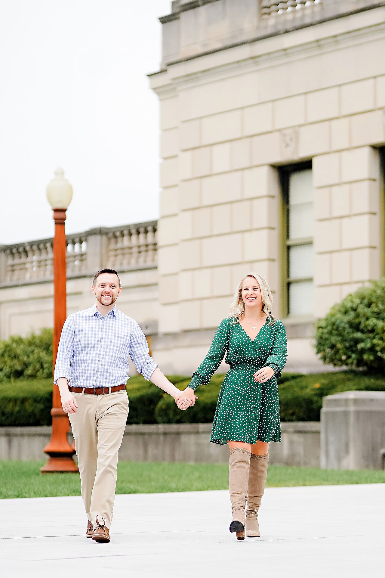 Kristen Jonny Indianapolis Downtown Engagement Session 046