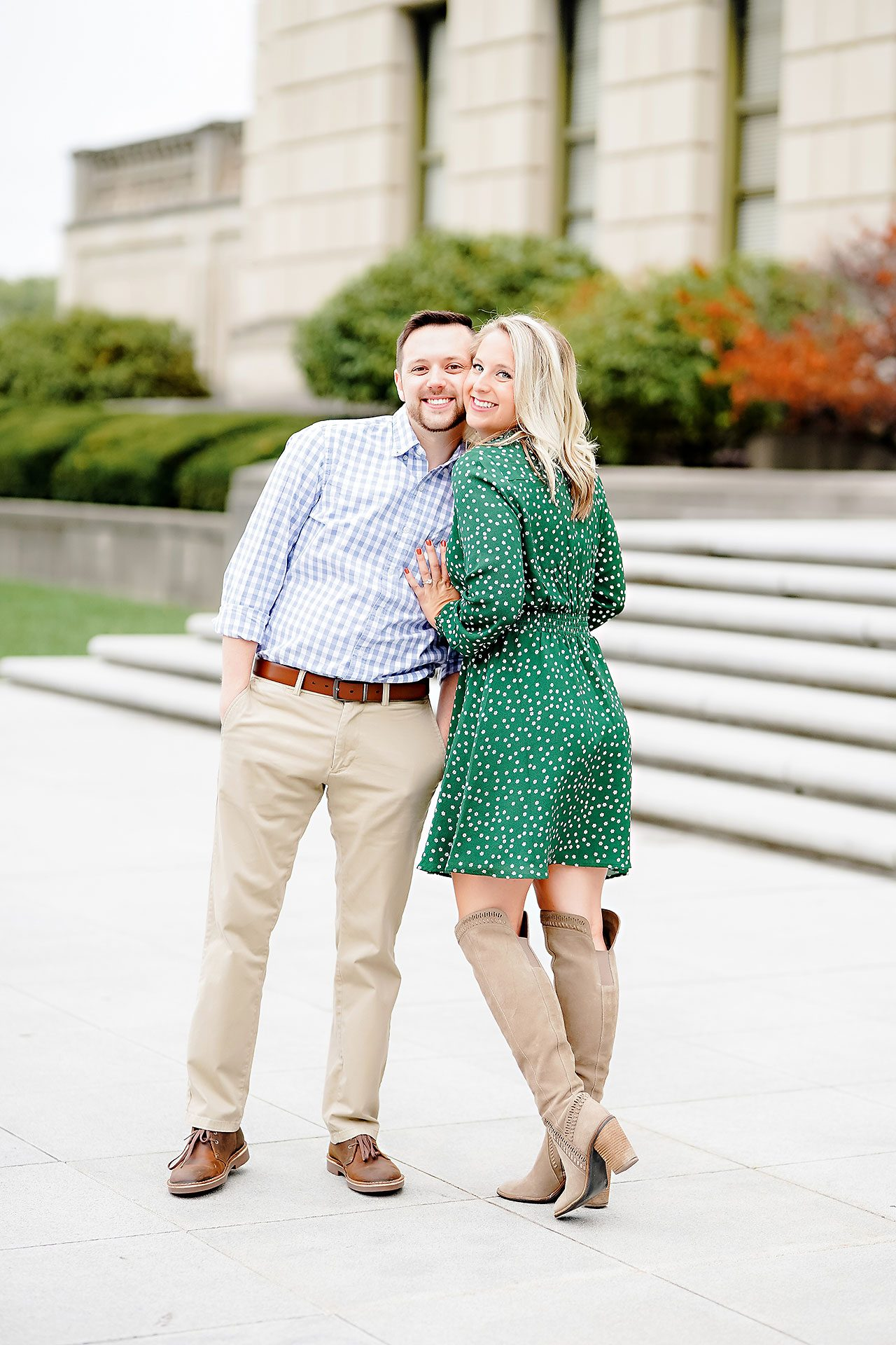 Kristen Jonny Indianapolis Downtown Engagement Session 053