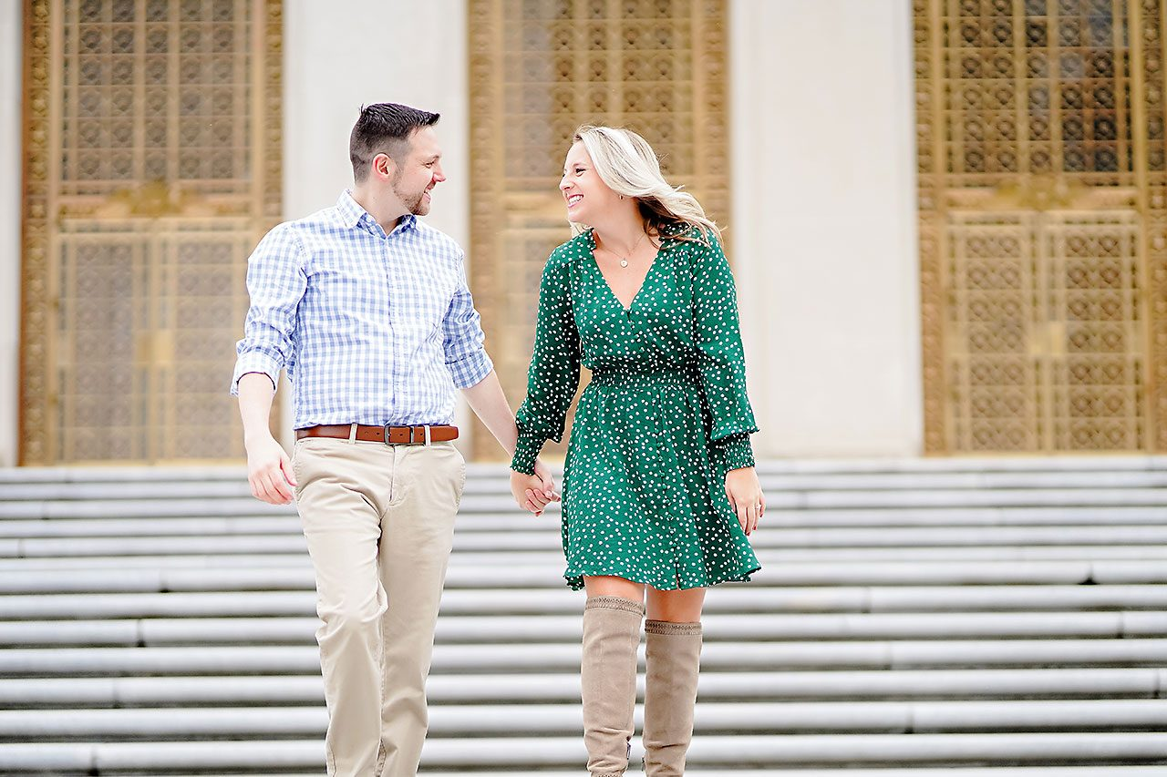Kristen Jonny Indianapolis Downtown Engagement Session 054