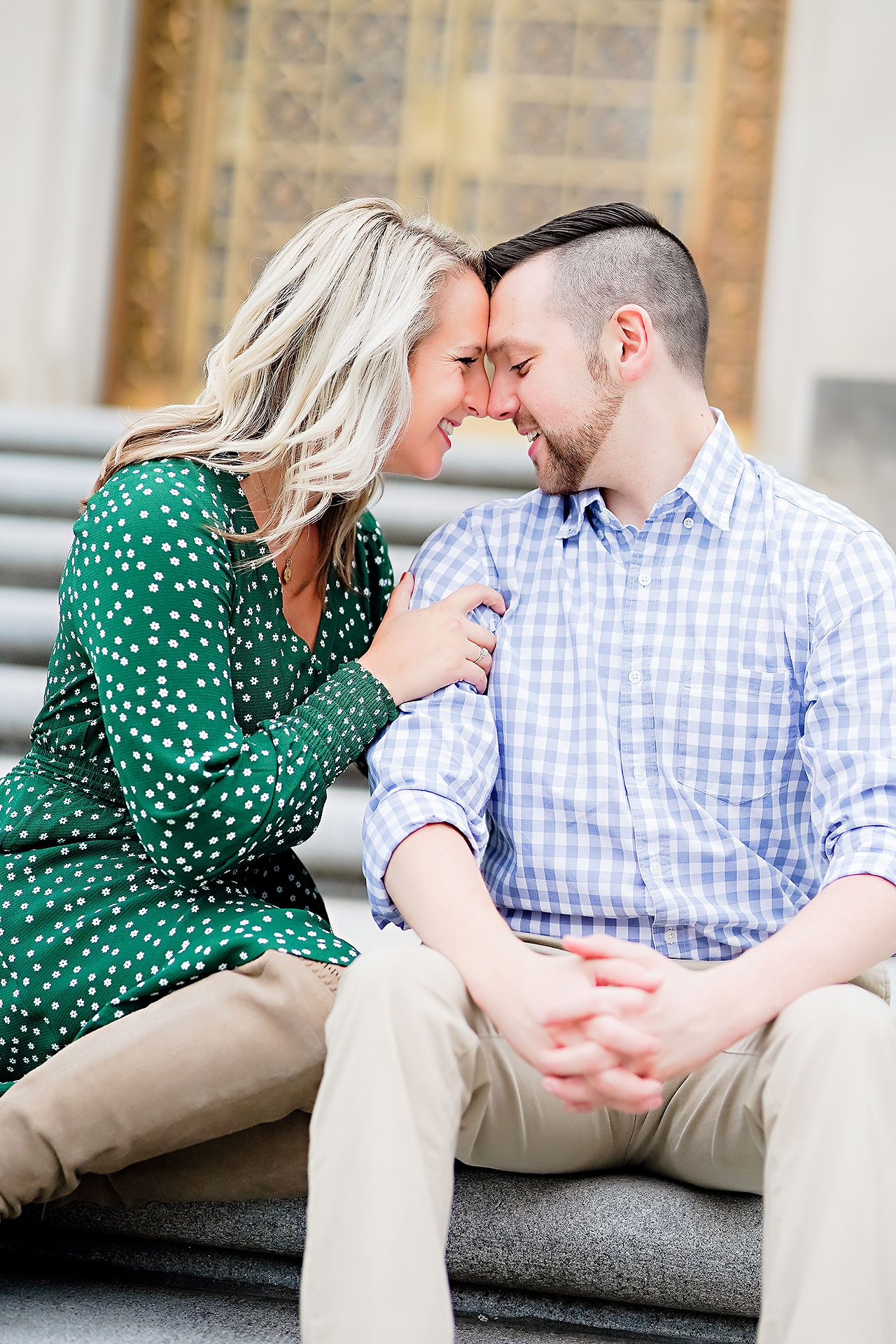 Kristen Jonny Indianapolis Downtown Engagement Session 057