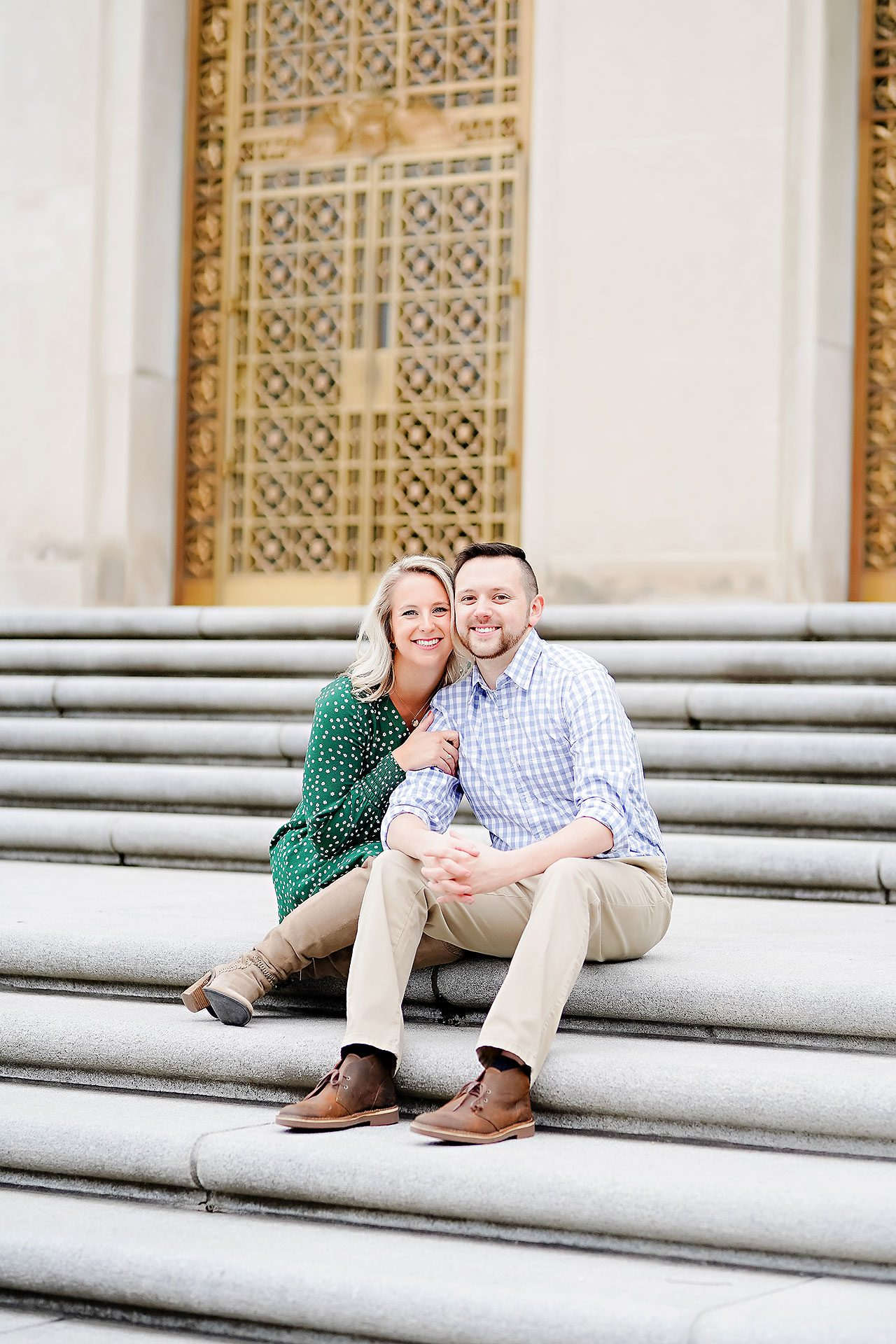 Kristen Jonny Indianapolis Downtown Engagement Session 064