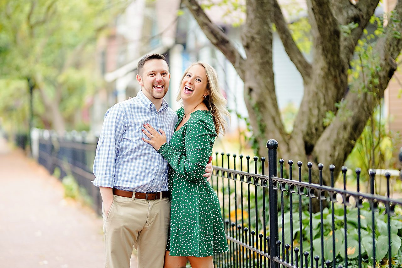Kristen Jonny Indianapolis Downtown Engagement Session 071