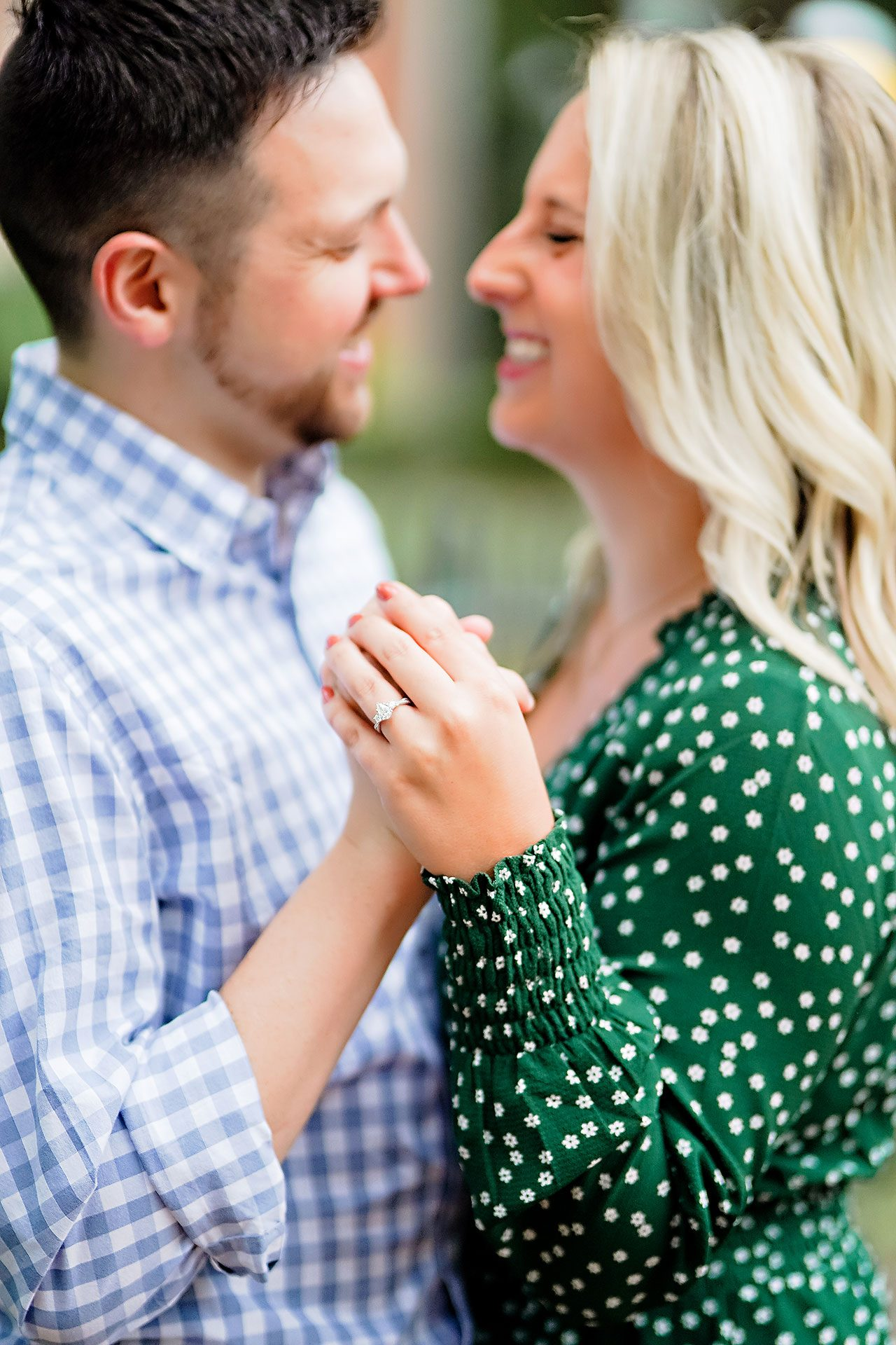 Kristen Jonny Indianapolis Downtown Engagement Session 073