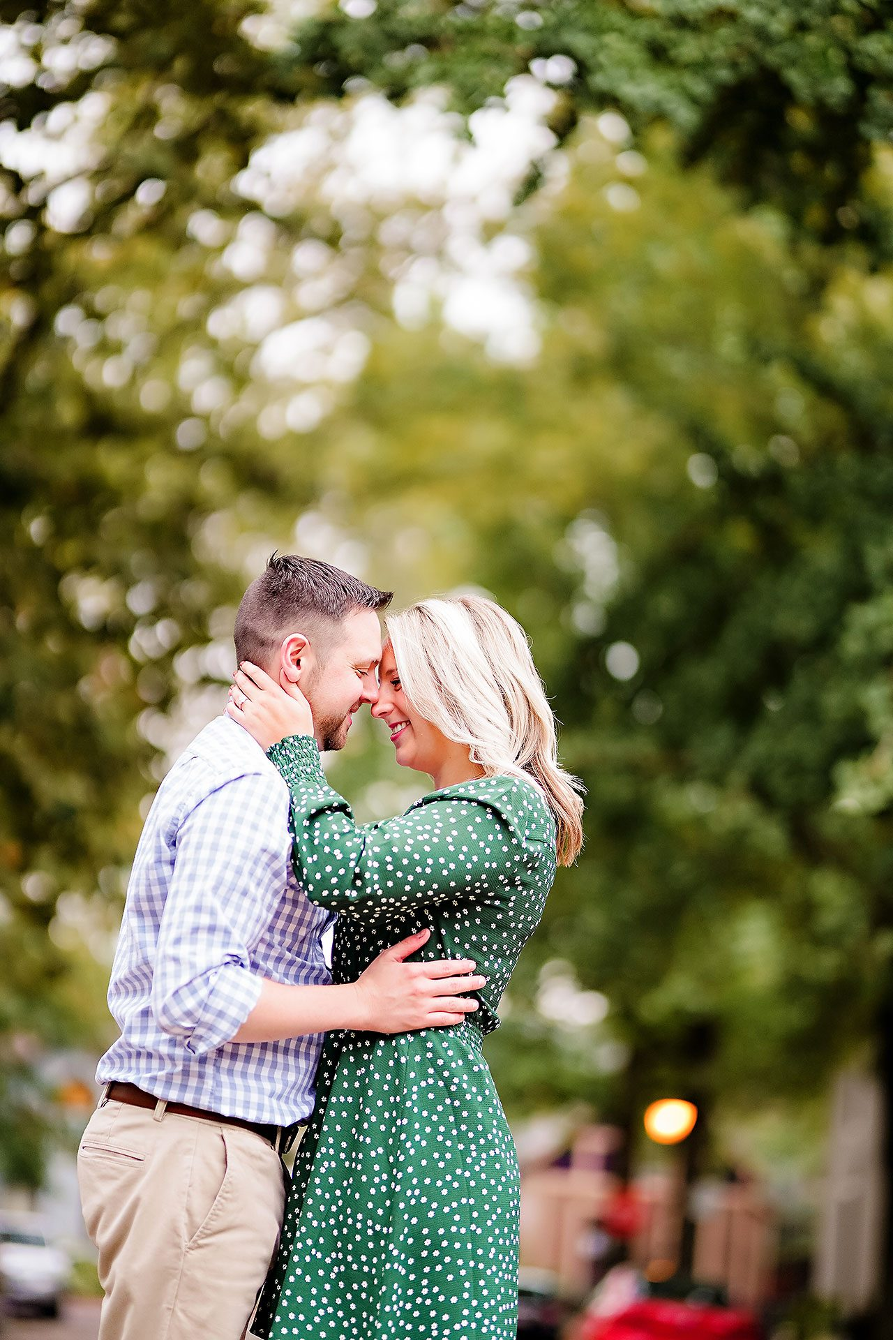 Kristen Jonny Indianapolis Downtown Engagement Session 083