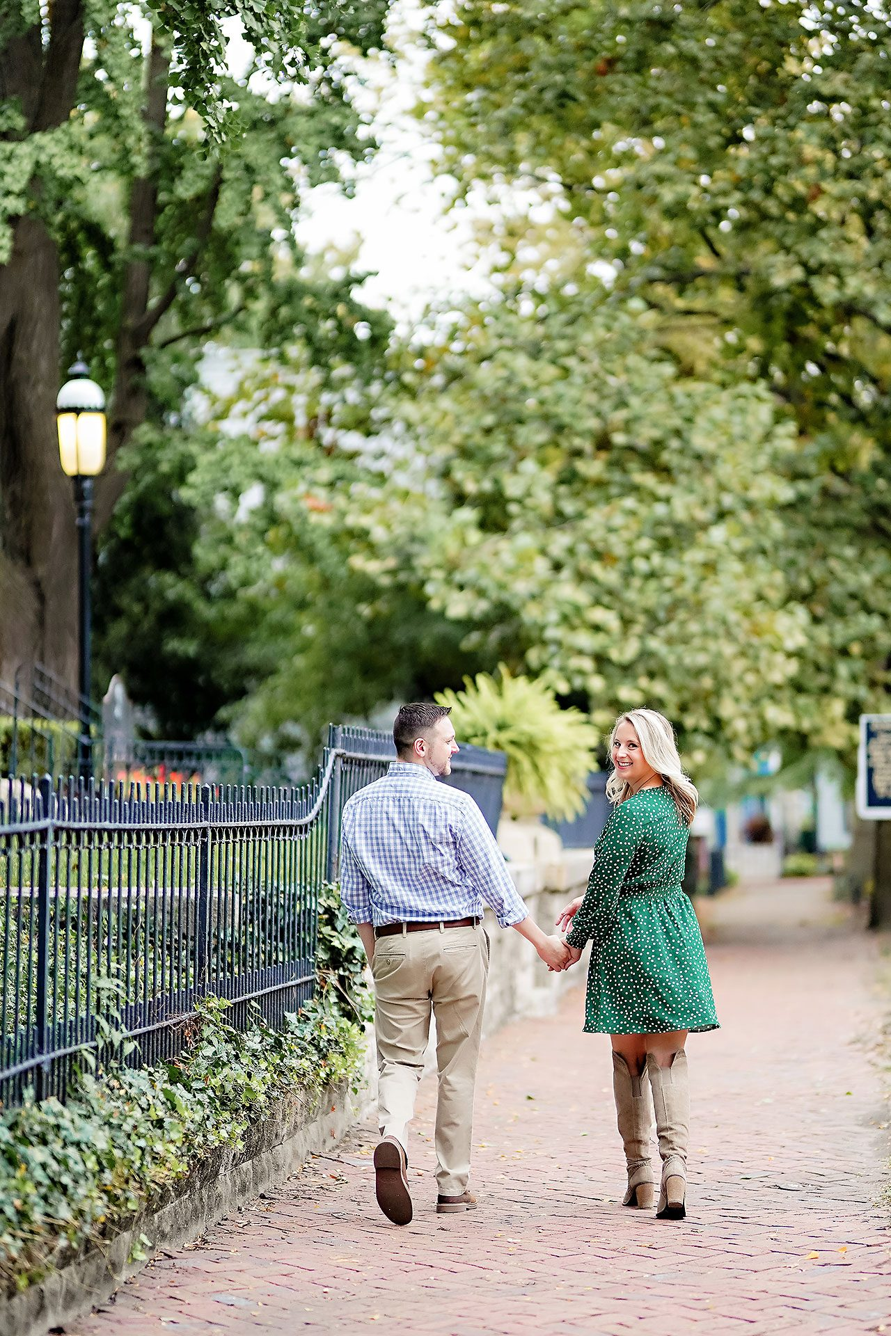 Kristen Jonny Indianapolis Downtown Engagement Session 087