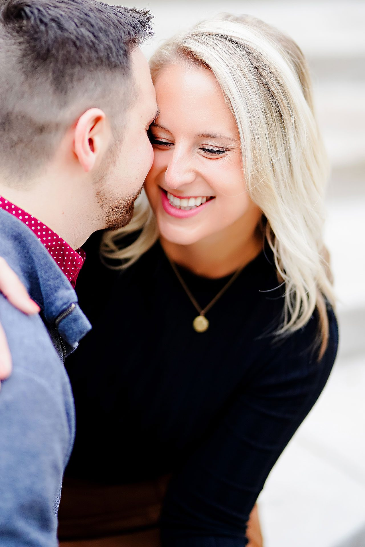 Kristen Jonny Indianapolis Downtown Engagement Session 118