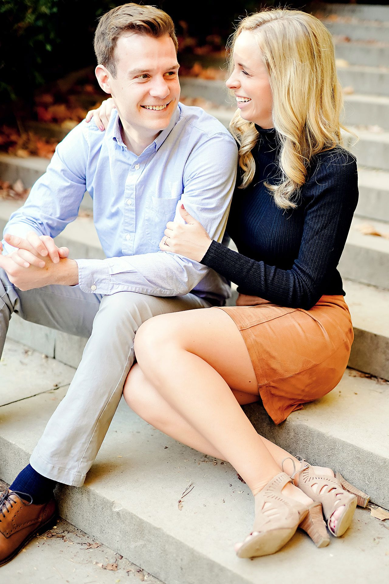 Sarah Evan Indianapolis Butler and Downtown Engagement 001